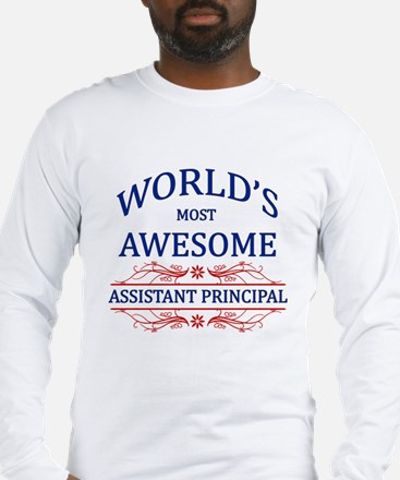 World's Most Awesome Assistant Principal Long Slee