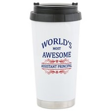 World's Most Awesome Assistant Principal Travel Mug