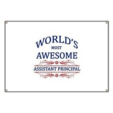 World's Most Awesome Assistant Principal Banner
