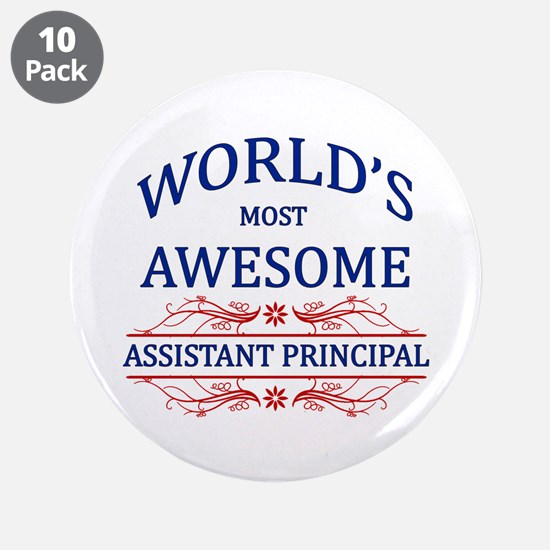 """World's Most Awesome Assistant Principal 3.5"""" Butt"""