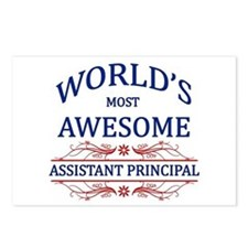 World's Most Awesome Assistant Principal Postcards