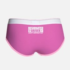 Official Designated Driver Women's Boy Brief