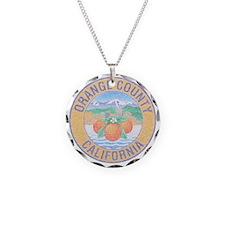 Vintage Orange County Necklace