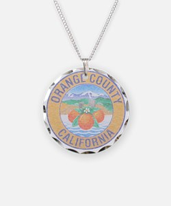 Vintage Orange County Necklace