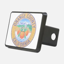 Vintage Orange County Hitch Cover