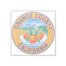 Vintage Orange County Sticker