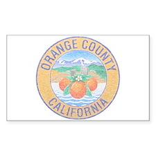 Vintage Orange County Decal