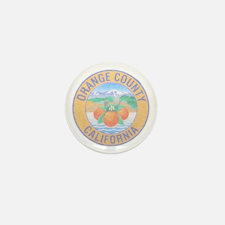 Vintage Orange County Mini Button