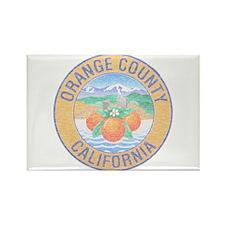 Vintage Orange County Rectangle Magnet