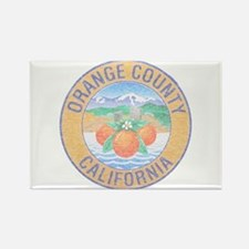 Vintage Orange County Rectangle Magnet