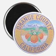 """Vintage Orange County 2.25"""" Magnet (10 pack)"""