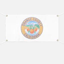 Vintage Orange County Banner