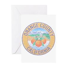 Vintage Orange County Greeting Card