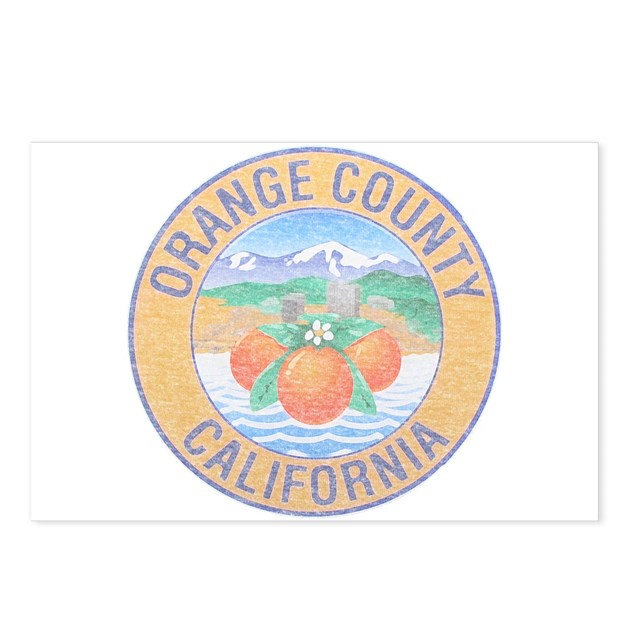 vintage orange county postcards package of 8 by