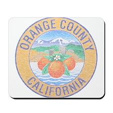 Vintage Orange County Mousepad