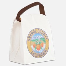 Vintage Orange County Canvas Lunch Bag