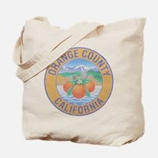 Vintage Orange County Tote Bag