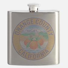 Vintage Orange County Flask
