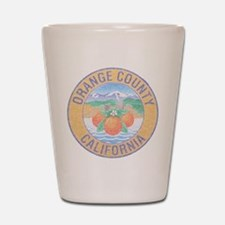 Vintage Orange County Shot Glass