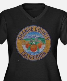 Vintage Orange County Plus Size T-Shirt