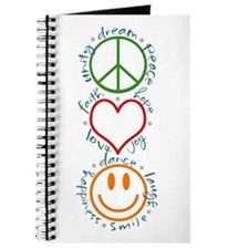 Peace Love Laugh Journal