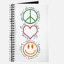 Peace Love Laugh Journal