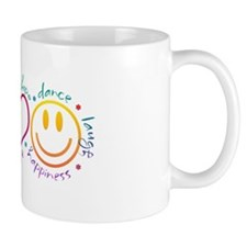 Peace Love Laugh Mug