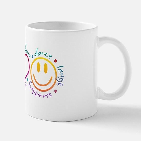Peace Love Laugh Mug