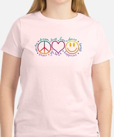 Peace Love Laugh T-Shirt