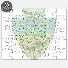 San Bernardino Arrowhead Puzzle