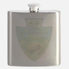 San Bernardino Arrowhead Flask