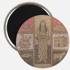"""Los Angeles County 2.25"""" Magnet (10 pack)"""