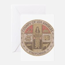 Los Angeles County Greeting Card
