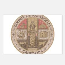 Los Angeles County Postcards (Package of 8)