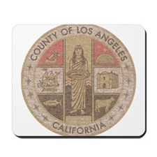 Los Angeles County Mousepad