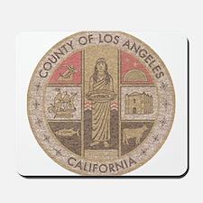 Los Angeles County Mousepad