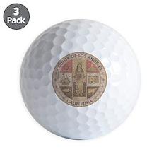Los Angeles County Golf Ball