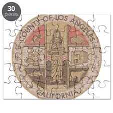 Los Angeles County Puzzle