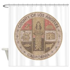 Los Angeles County Shower Curtain
