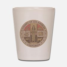 Los Angeles County Shot Glass