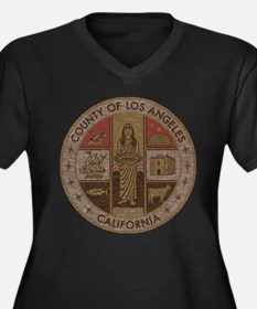 Los Angeles County Plus Size T-Shirt