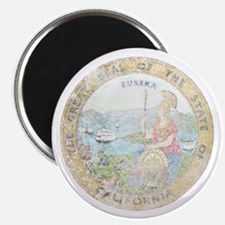 "Vintage California Seal 2.25"" Magnet (10 pack)"