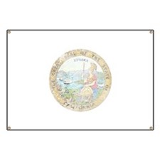 Vintage California Seal Banner