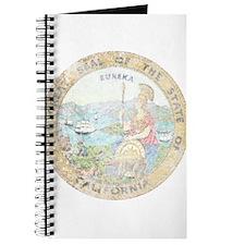 Vintage California Seal Journal