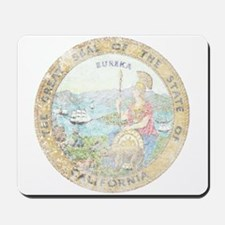 Vintage California Seal Mousepad