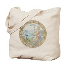 Vintage California Seal Tote Bag