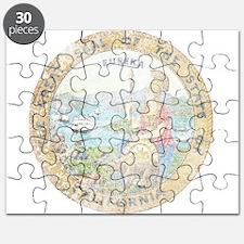 Vintage California Seal Puzzle