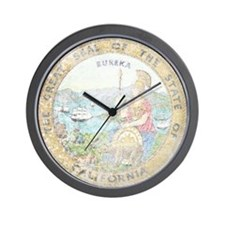 Vintage California Seal Wall Clock