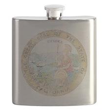 Vintage California Seal Flask