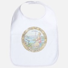Vintage California Seal Bib